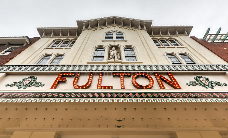 Fulton Opera House, Lancaster Pensilvania fotografia stock