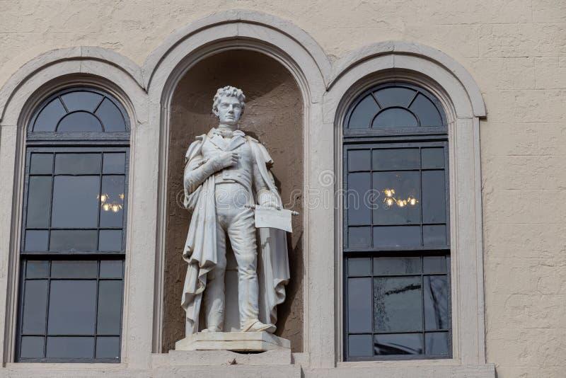 Fulton Statue fotos de stock royalty free