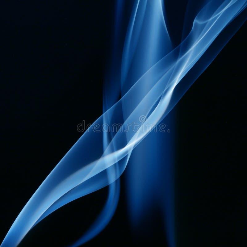 Fumée bleue photos stock
