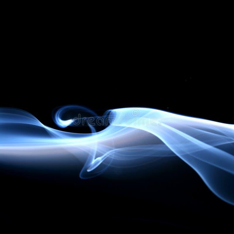 fumée bleue photos libres de droits