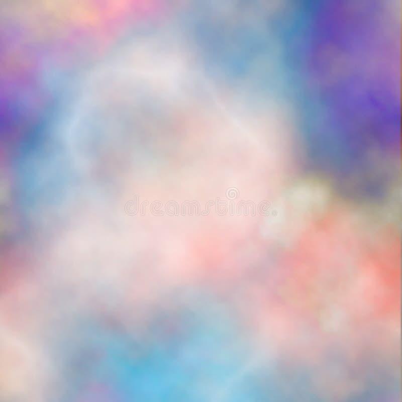 Fumée colorée illustration libre de droits