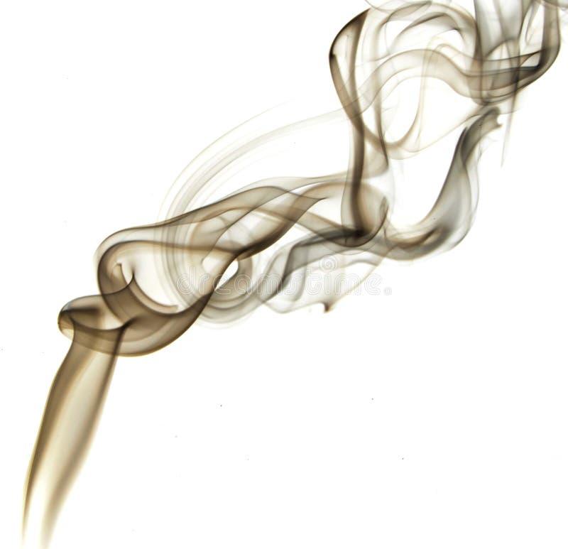 Fumée de Brown images libres de droits