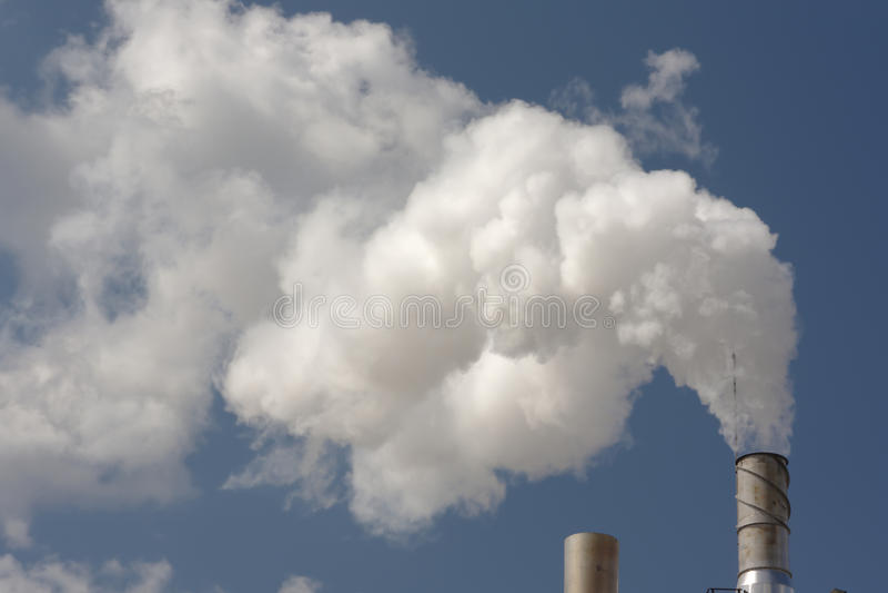 Fumée de la tige photographie stock libre de droits
