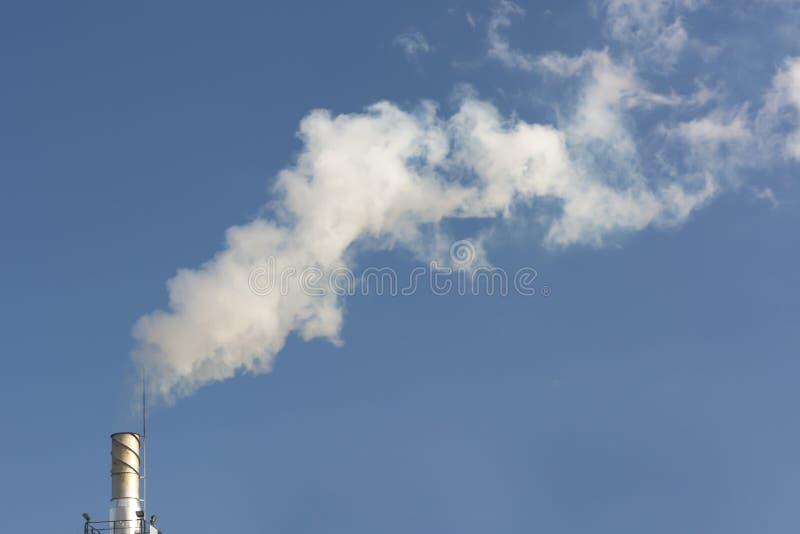 Fumée de la tige photo stock