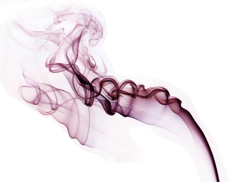 Fumée de pourpre de beauté photos stock