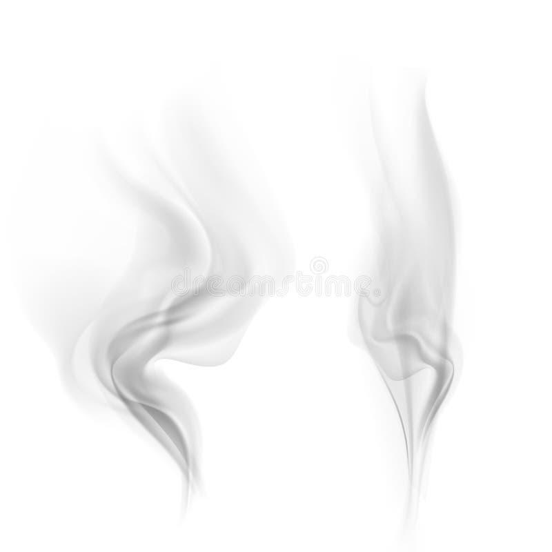 Fumée de vecteur illustration libre de droits