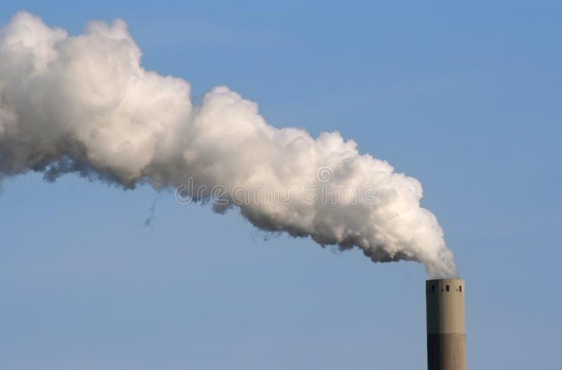 Fumée industrielle photo stock