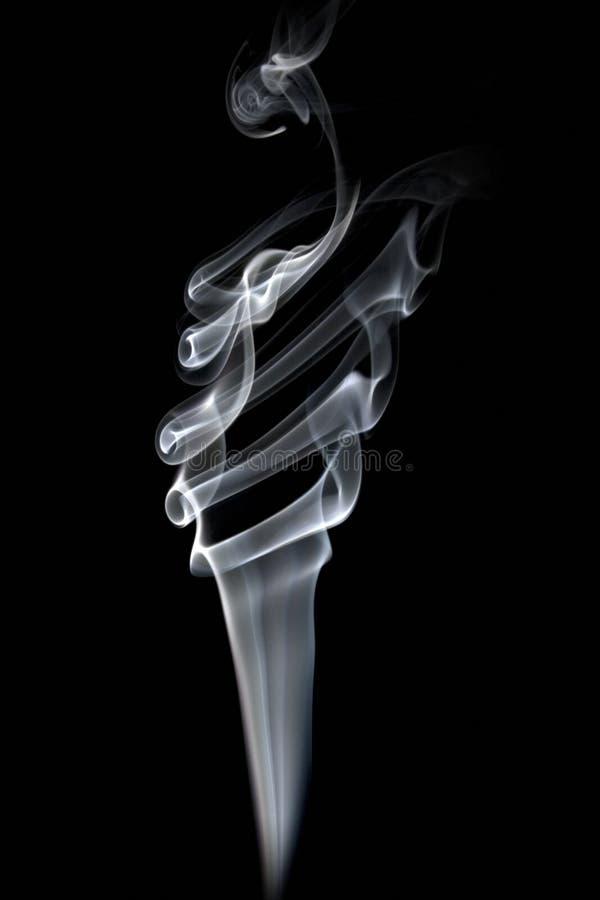 Fumée lumineuse images libres de droits