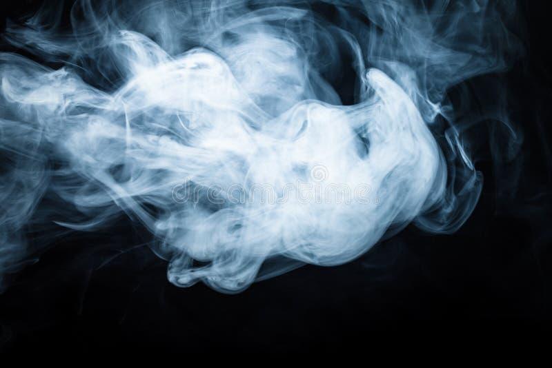fumée noire de fond defocused toned photographie stock