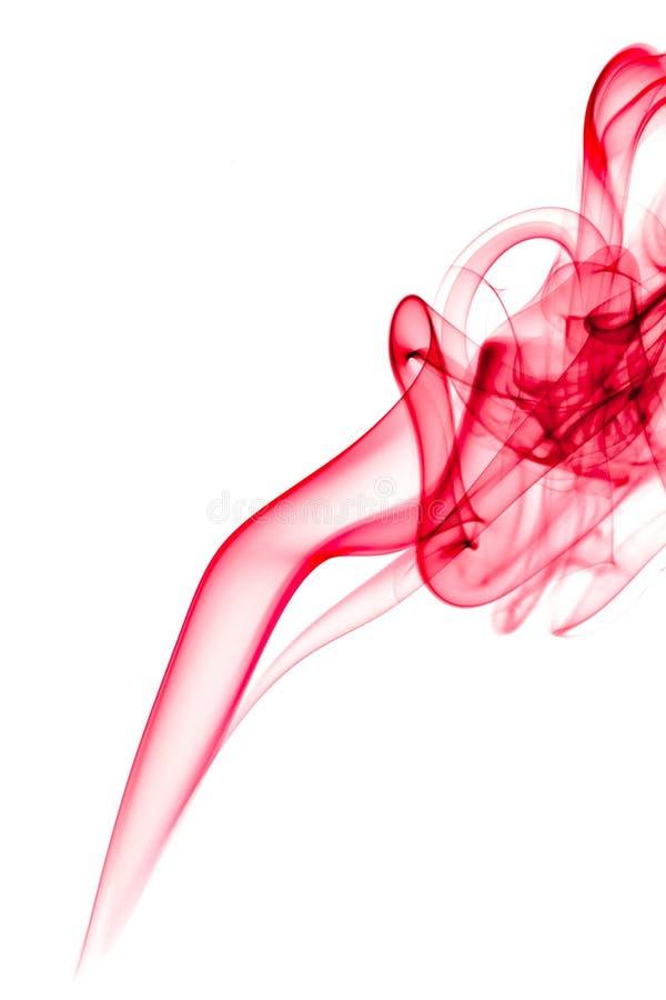 Fumée rouge images libres de droits