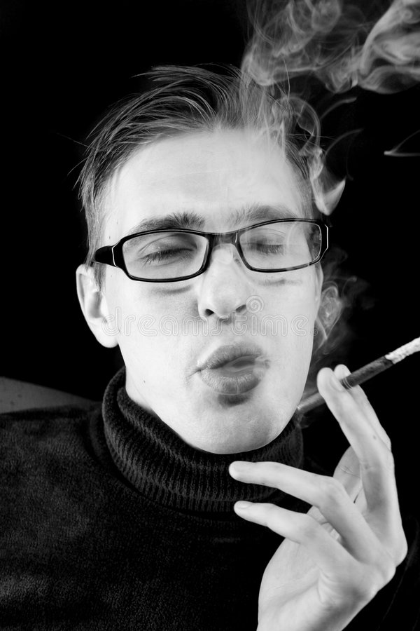 Fumador imagens de stock