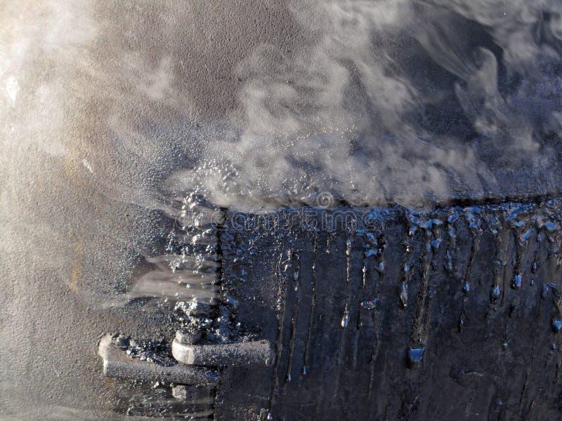 Fumador del Bbq fotografía de archivo