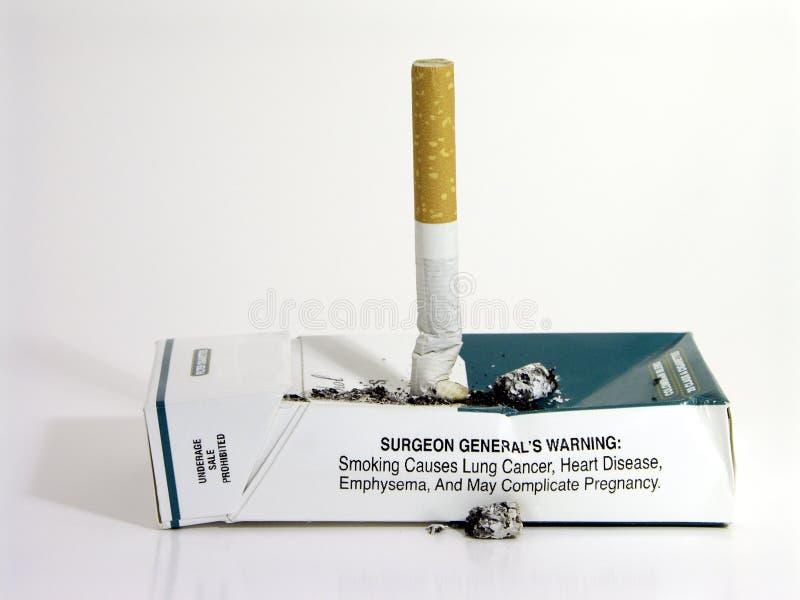 Fumage quitté photo libre de droits