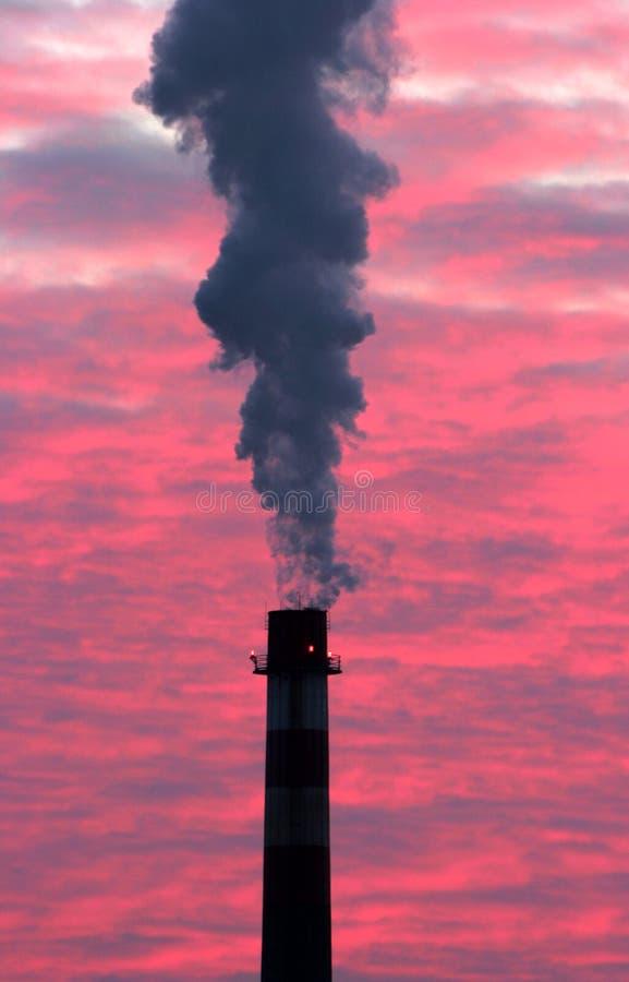Fumaiolo immagine stock