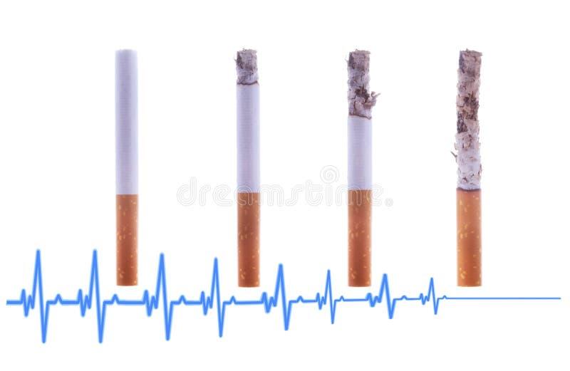 Fumar ? mortal ? sa?de Mate-se ou pare-se fumar o conceito Mundo nenhum dia do tabaco imagens de stock