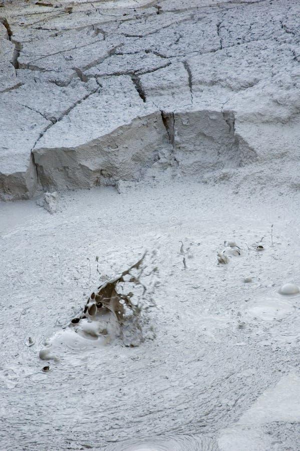 Fumarole bei Rincon de la Vieja Volcano. lizenzfreie stockfotografie