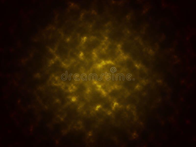 Fume o fundo preto da textura e amarelo abstrato da cor foto de stock