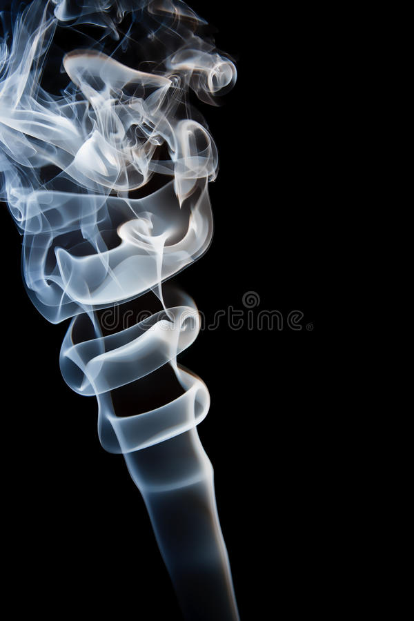 Fumes in the dark royalty free stock photography