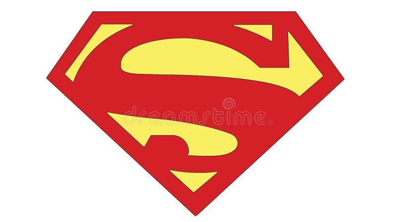 Fumetti di azione delle insegne del superman S nessun 1 2011 illustrazione di stock