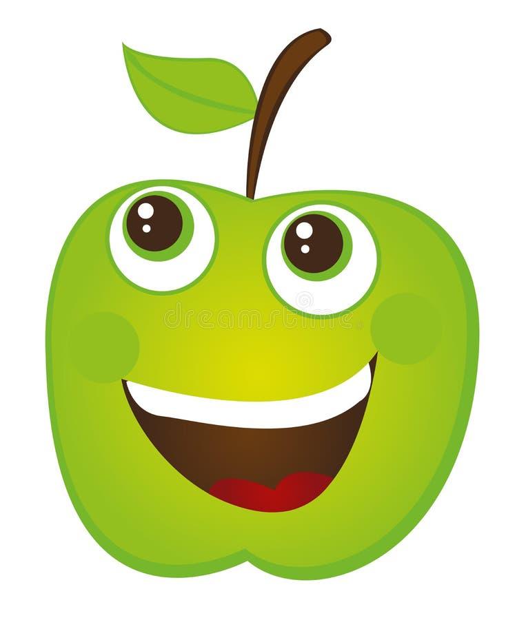 Fumetto del Apple royalty illustrazione gratis