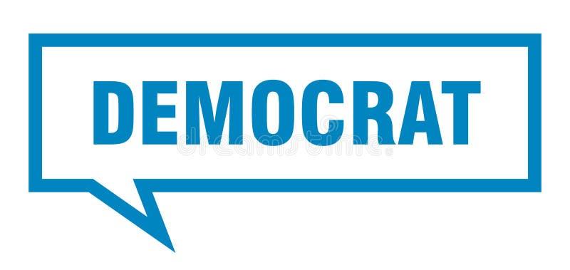 fumetto del democratico royalty illustrazione gratis