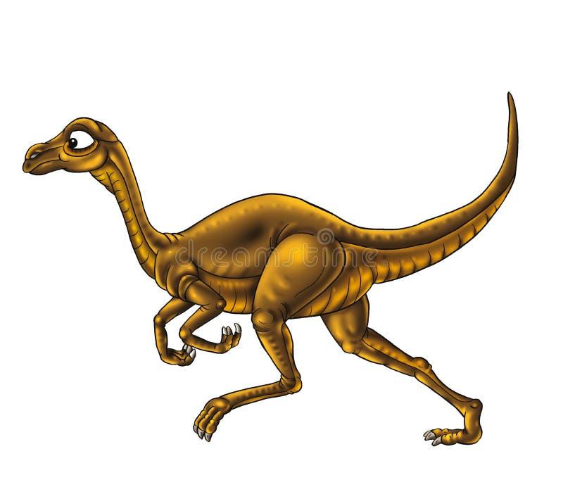 Fumetto del dinosauro illustrazione di stock