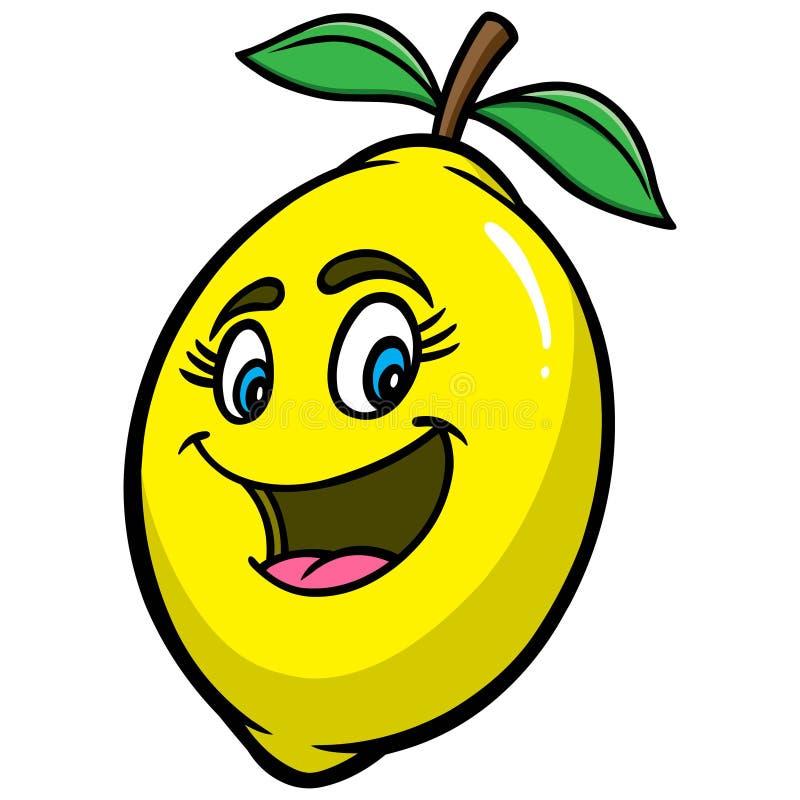 Fumetto del limone illustrazione vettoriale