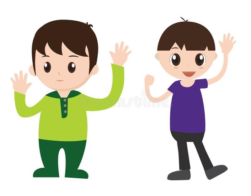 Download Fumetto del ragazzo illustrazione vettoriale. Illustrazione di ragazzo - 55361518