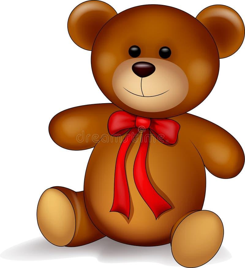 Fumetto dell'orso dell'orsacchiotto royalty illustrazione gratis