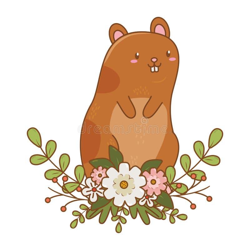 Fumetto sveglio dell'animale domestico royalty illustrazione gratis