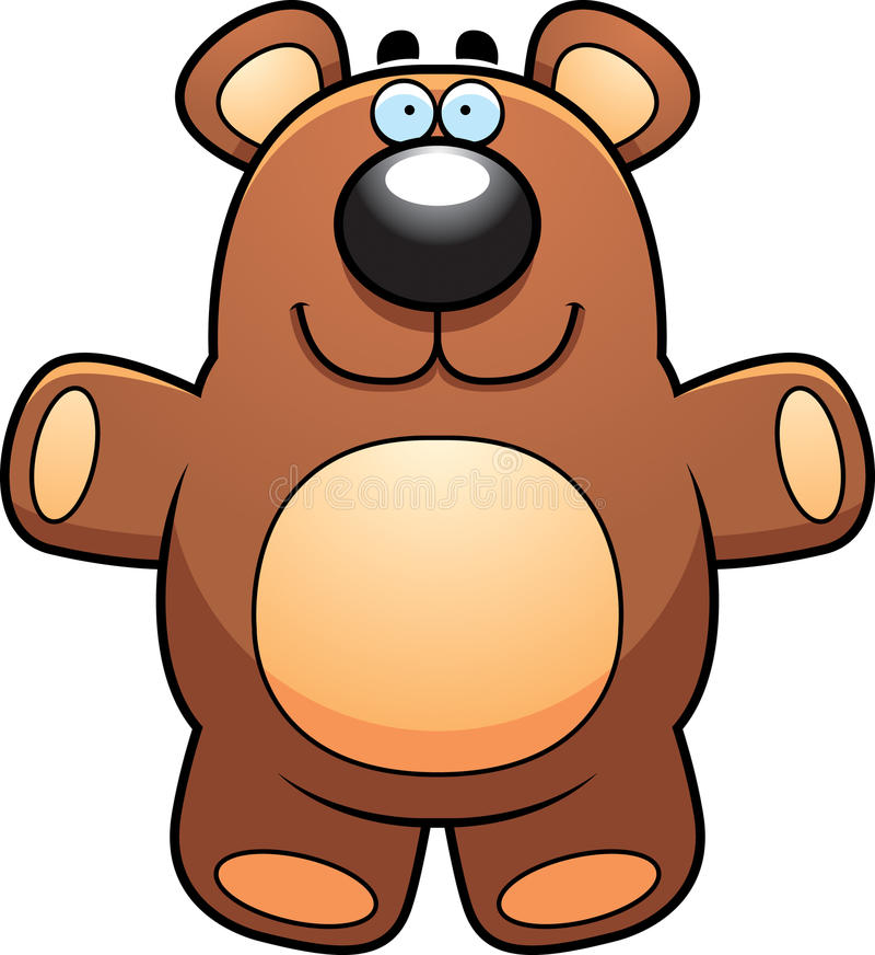 Fumetto Teddy Bear illustrazione vettoriale