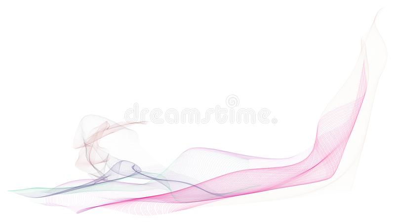 Fumeux abrégé sur fond d'illustrations de schéma, texture artistique Effet, créatif, modèle et concept photo stock