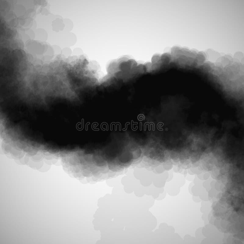 Fumez le fond illustration de vecteur