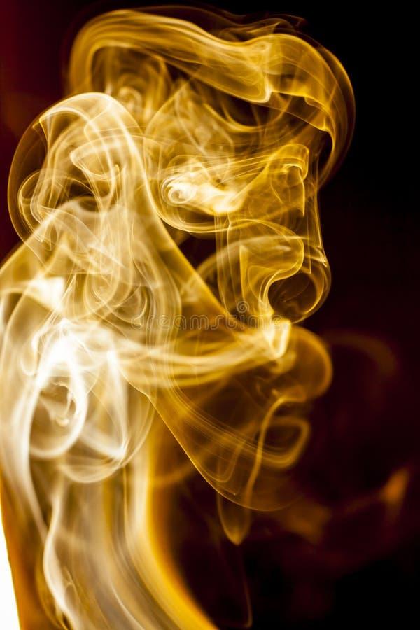 Fumi l'accumulazione immagine stock