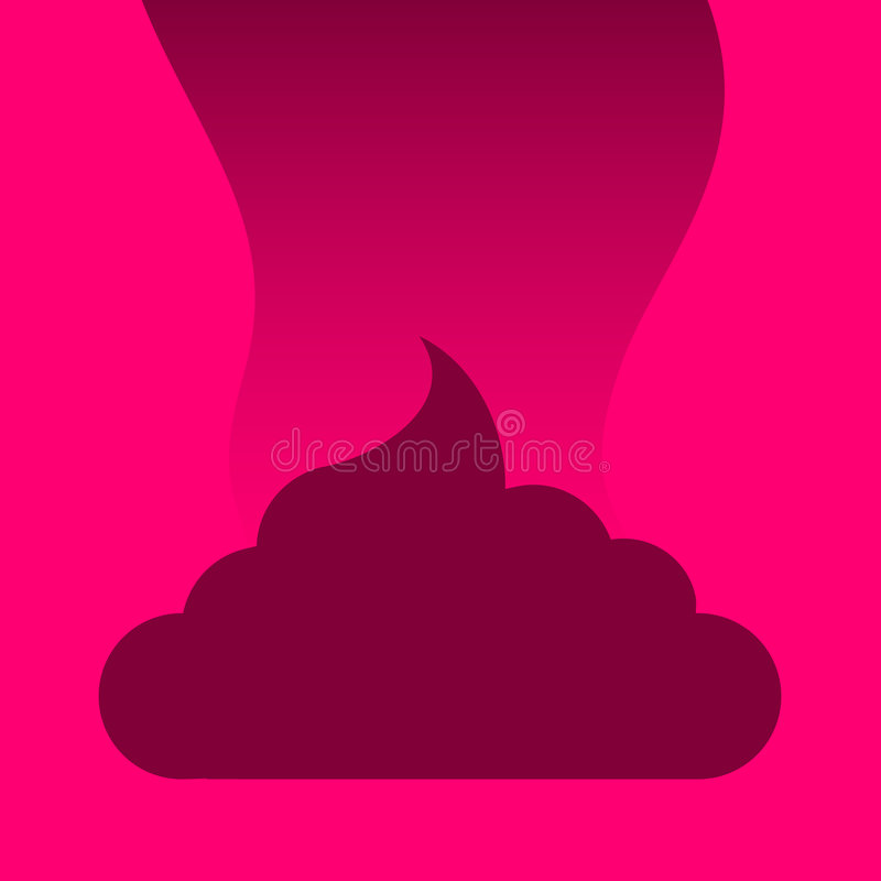 Fumier Stinky illustration libre de droits