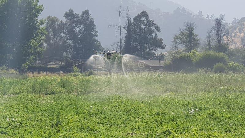 Fumigator de bourdon pour la marque de tta d'agriculture photographie stock libre de droits