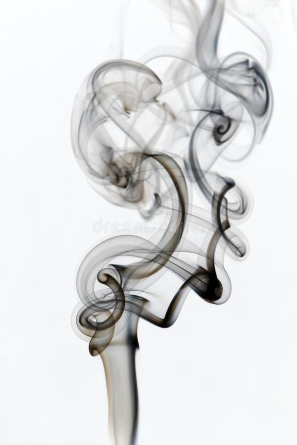 Fumo 8 de Whispy fotografia de stock