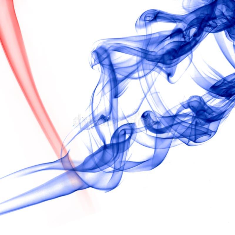 Fumo abstrato imagens de stock royalty free