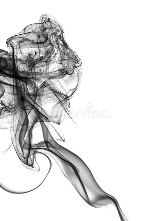 Fumo abstrato foto de stock