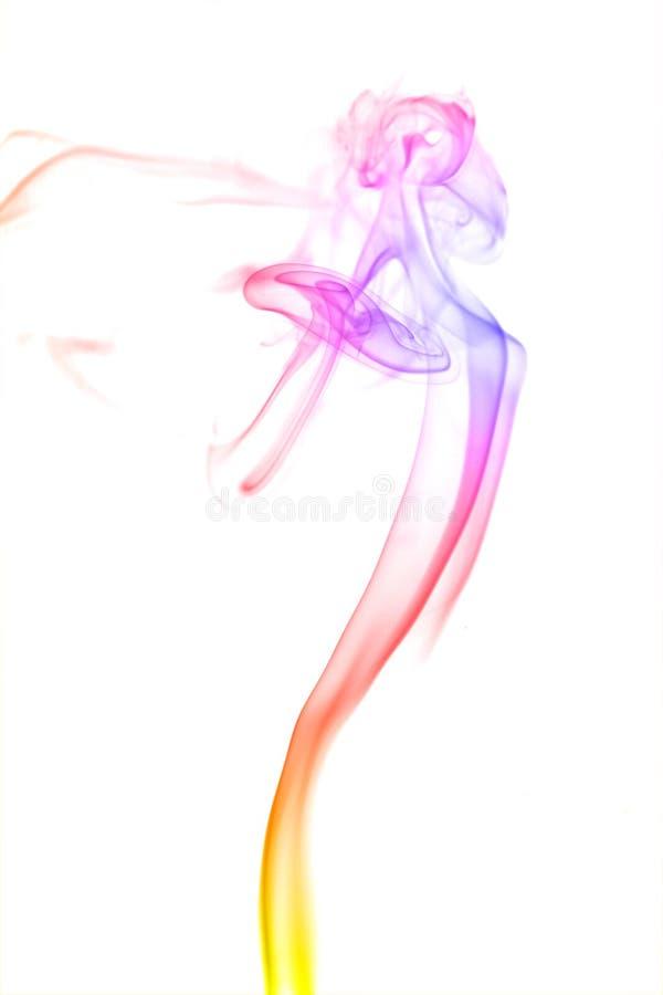 Fumo abstrato da cor foto de stock