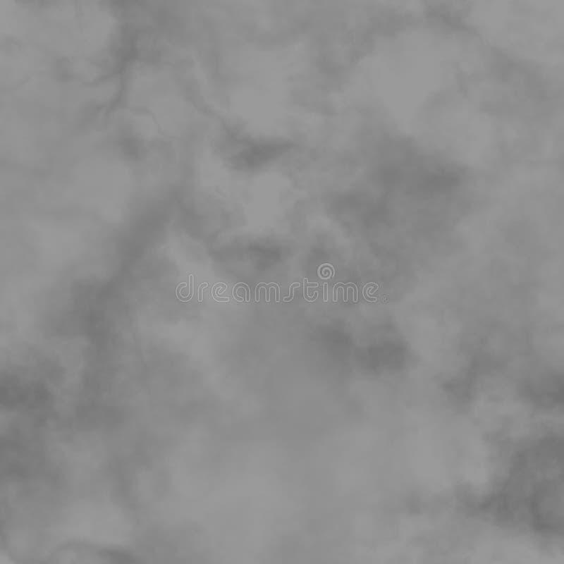 Fumo abstrato, nuvens preto e branco, céu nebuloso, teste padrão obscuro cinzento, fundo nevoento cinzento da textura, ilustração fotos de stock royalty free