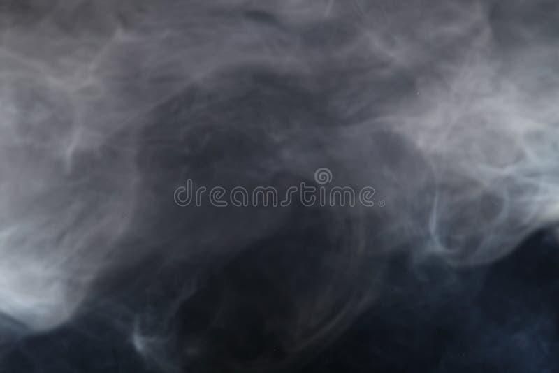 Fumo alla luce fotografia stock libera da diritti