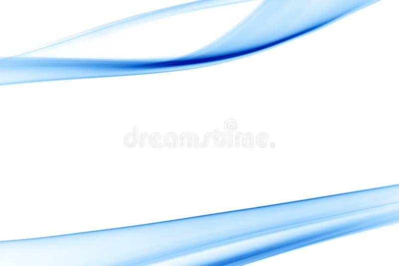 Fumo azul liso ilustração royalty free