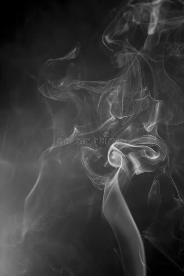 Fumo bianco fotografie stock