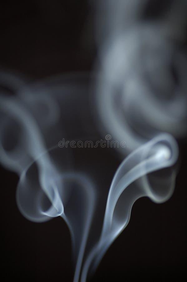 Fumo branco 1 imagens de stock royalty free