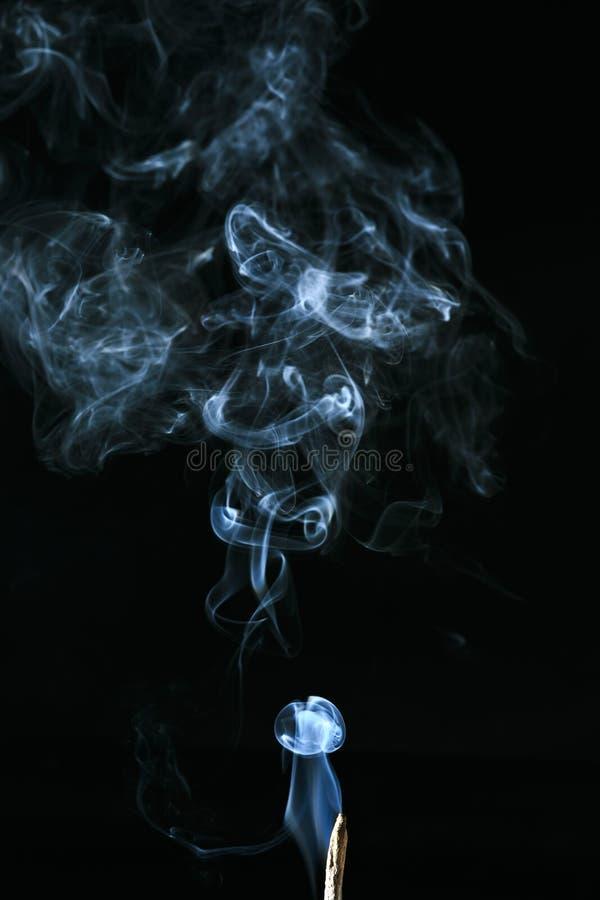Fumo branco imagem de stock