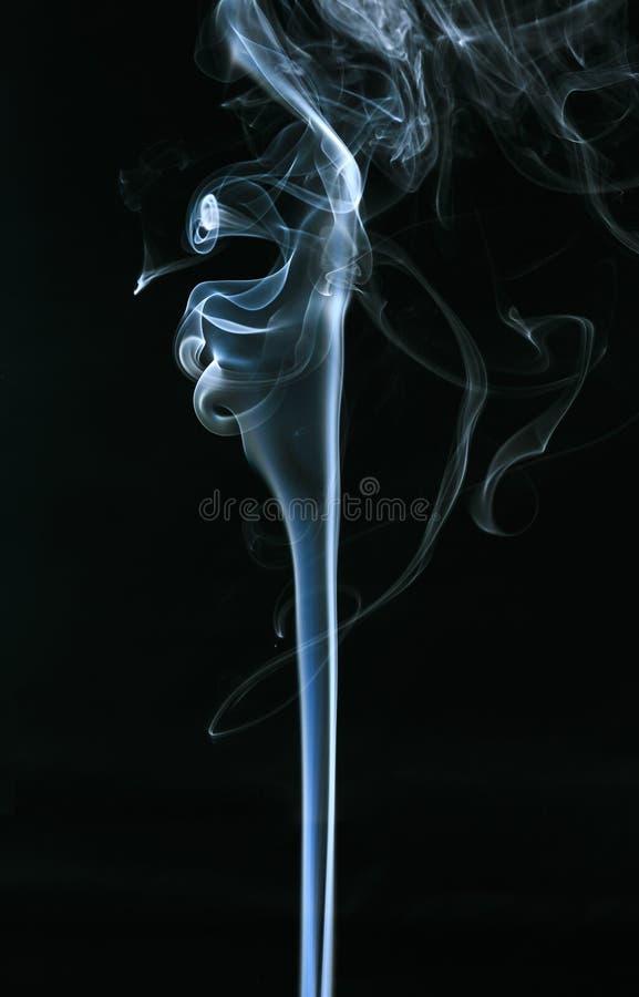 Fumo branco foto de stock royalty free