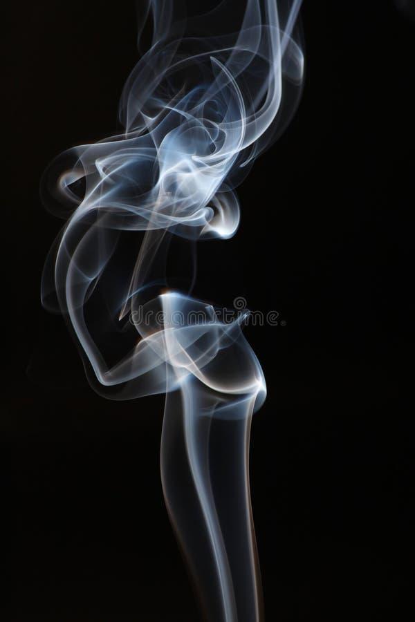 Fumo branco abstrato. imagens de stock royalty free
