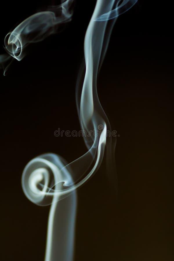 Fumo da dança fotografia de stock