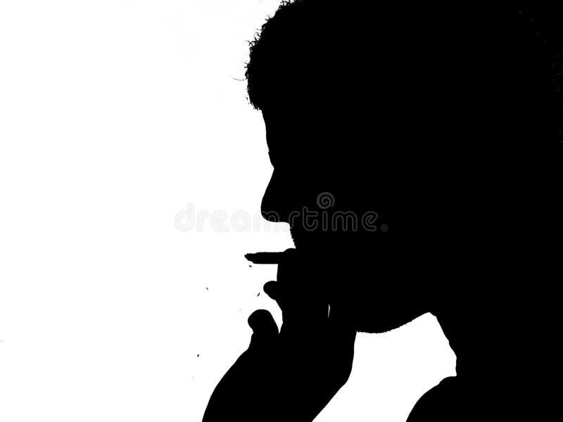 Download Fumo da pessoa imagem de stock. Imagem de perigoso, playboy - 200297